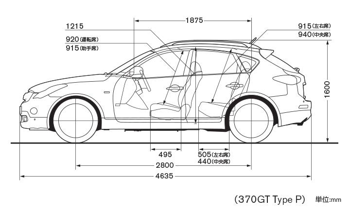 What Is A Crossover Suv >> 日産:スカイライン クロスオーバー [ SKYLINE CROSSOVER ] スポーツ&スペシャリティ/SUV | スペック・標準装備 | 車体寸法
